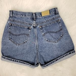 "Vintage Lee jeans high waist ""mom shorts"""